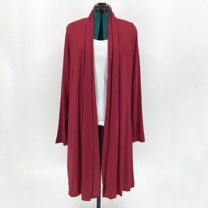 Yest Yessica Soft Jersey Knee Length Cardigan, 14